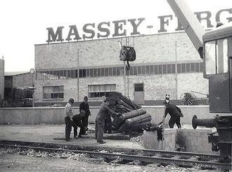 1965 Bauarbeiten  im Anschluß Ferguson