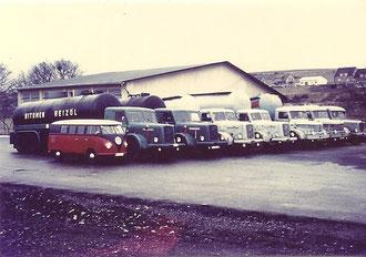 LKW Parade ca 1960