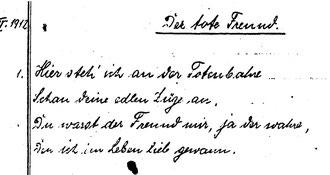 Karin Schröder/™Gigabuch Forschung/Originalhandschrift der Transkription Heft 1