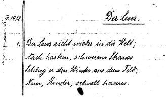 Karin Schröder/™Gigabuch Forschung/Originalhandschrift der Transkription Heft 2