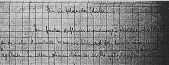 Karin Schröder/Sonderform Gigabuch Forschung/Originalhandschrift der Transkription Heft 5/Vorschrift