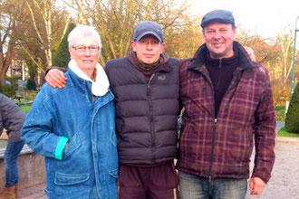 v.l. Ingeborg Stier, Torsten Breuer, Michael Schaper