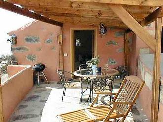 Ferienhaus auf der Finca Palo Alto im romantischer Umgebung von Guia de Isora auf Teneriffa