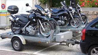 Motorrad-Gruppentour