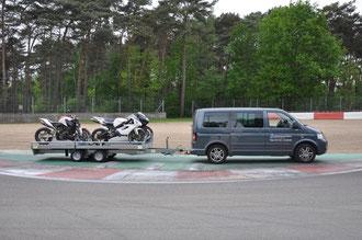 Motorrad Rennstrecke