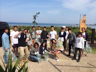 日本サーフィン連盟福岡支部の皆さま