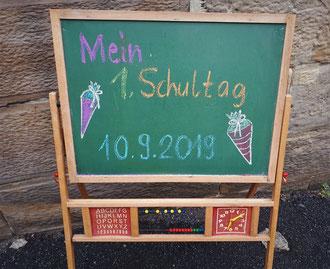 Einschulung Meußdoerffer Grundschule, Bilder: Peter Dorsch Bayreuth
