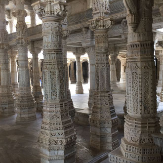 Individualreisen Ranakpur Jain Tempel