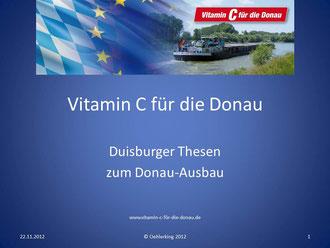 Vitamin C für die Donau