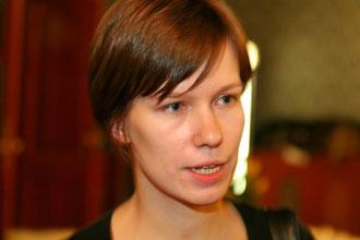 Programm-Direktorin Kreet Paljas