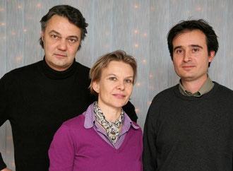 Attila Lörinczy, Susann Wach, Richard Szotyori