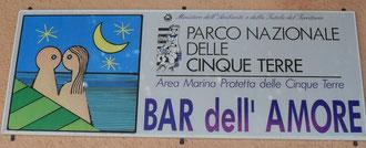Bar dell' Amore auf dem berühmten Wanderweg der Liebenden, der Via dell' Amore