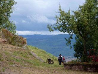 randonnée chateau aveyron