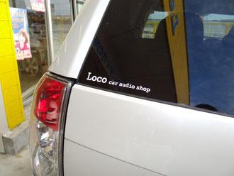Locoステッカー