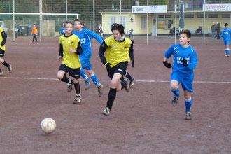TuS C1 gegen VfB Frohnhausen 2, Endstand 2:0  (Foto: mal).