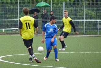 Saisonabschluss der TuS B1, 9:1 Erfolg in Frohnhausen (Foto: mal).