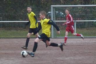 Vierfach-Torschütze Pierre Münster im Spiel der C1 (Foto: mal).
