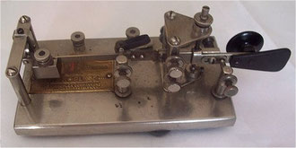 "Vibroplex #6 ""Lightning Bug"" del 1927 - versione Nickel"
