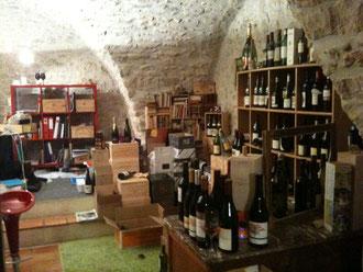 la cave de Saussines