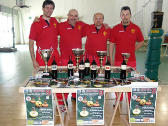 La squadra del Messina Table Soccer