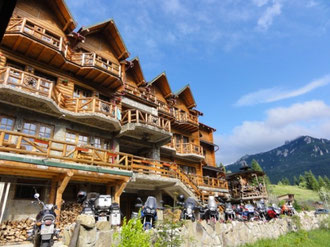 Unser Berghotel in Durau
