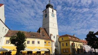 Wunderschöne Altstadt von Sibiu (Hermannstadt)