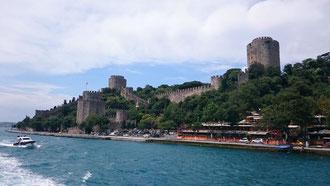 Während der Bosporus Rundfahrt