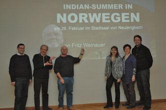 Johann Dill, Karl J. Mayerhofer, Fritz Weinauer, Mag. Silvia Schweighofer, GGR Elfriede Schneider-Schwab, Stefan Buger