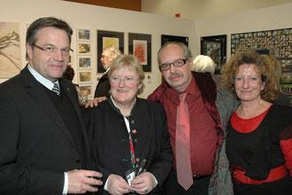 Dr. Günther Plattner, Roswitha Roch, Karl J. Mayerhofer, Susanna Hiess