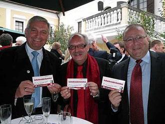 LAbg. Bg. Alfred Riedl, Karl J. Mayerhofer, Franz Dworak