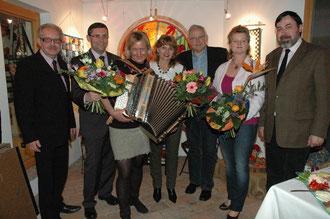 Karl J. Mayerhofer, Hans Dill, Christine Rauch, Silvia Schweighofer, NR. Johann Hell, Regina Mayerhofer, Georg Schück