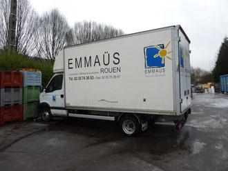 la communaut de notre dame de bondeville dispose de 2 camions pour les enl vements domicile. Black Bedroom Furniture Sets. Home Design Ideas