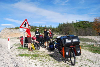 Voyage à vélo en Turquie, Bike touring, rencontre de cyclistes