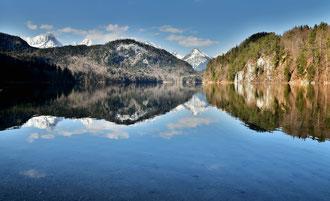 Spiegelung im Alpsee