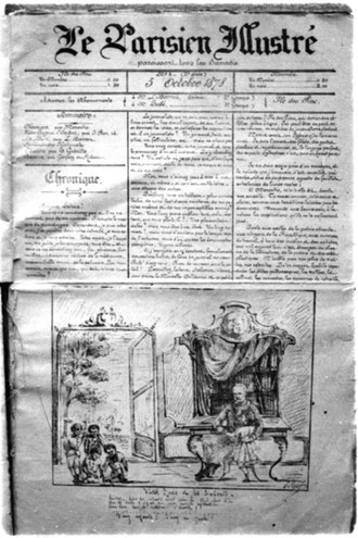 LE PARISIEN ILLUSTRÉ (N° 1, du 5 octobre 1878)