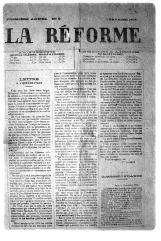 LA RÉFORME (1er Février 1879)