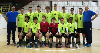 Under 16 Maschile in cima alla classifica