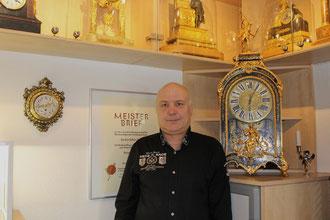 Uhrmachermeister Heinz Stupp