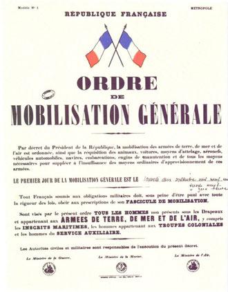 avis de mobilisation