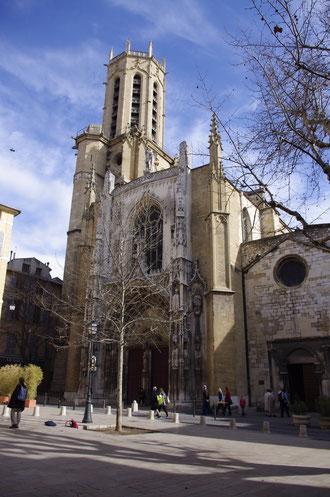 La cathédrale Saint-Sauveur à Aix-en-Provence
