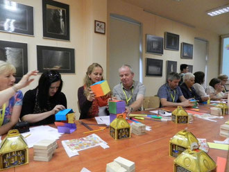 Comenius Living maths - Teachers training