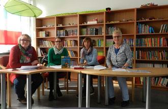 Die Jury des Vorlesewettbewerbs 2014
