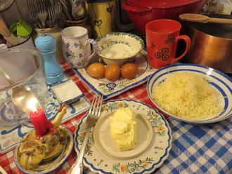 Soufflé au fromage de la Mère Mitraille