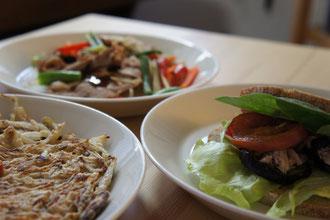 オンライン料理教室の風景