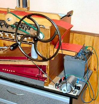 manivelle orgue