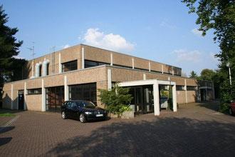 Unsere Halle in der Wilhem Busch Straße