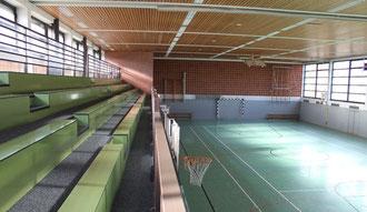 Sporthalle - Innenansicht