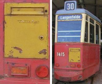 Straßenbahnbriefkasten 1951 © Rolf-Fredrik Matthaei