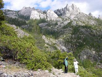 Fahad Ullah Khan en Mount Shasta