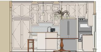 Centreville Kitchen Plan